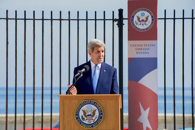 U.S. Re-opens Havana Embassy