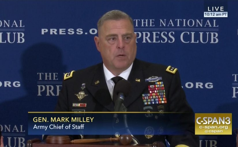 """U.S. General Mark Milley: """"China is not an Enemy"""""""