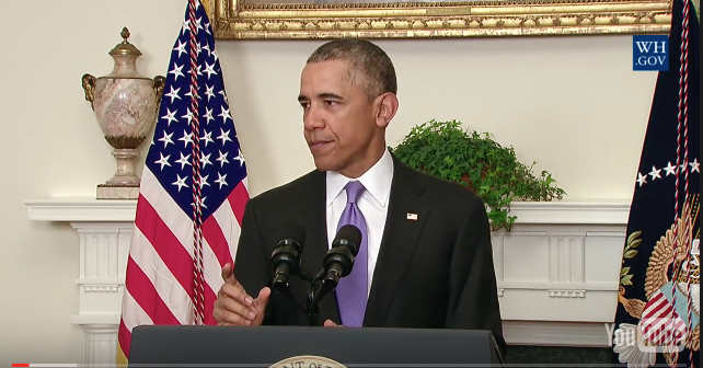 American President's Message on Lifting of Sanctions On Iran