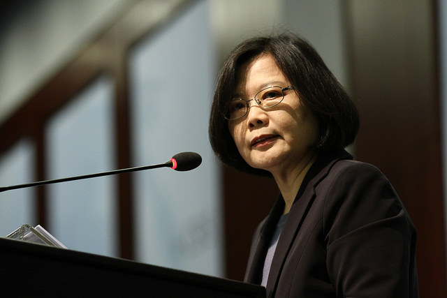 Taiwan's President Tsai Issues A Call To Action