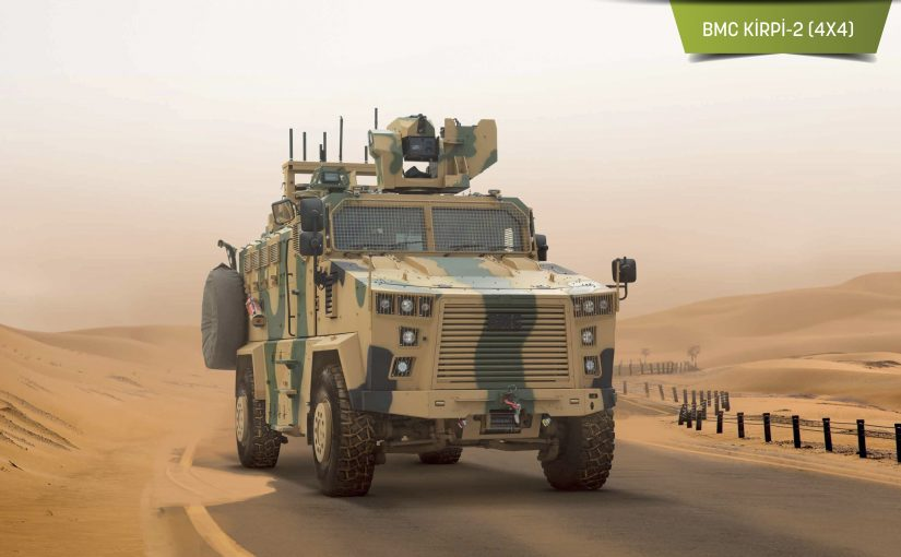Turkey's Military Fully Capable Of Projecting Power.